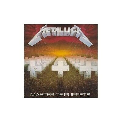 Metallica - Master Of Puppets - Metallica CD 33VG The Cheap Fast Free Post The