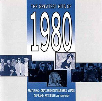 Various - The Greatest Hits of 1980 - Various CD CDVG The Cheap Fast Free Post