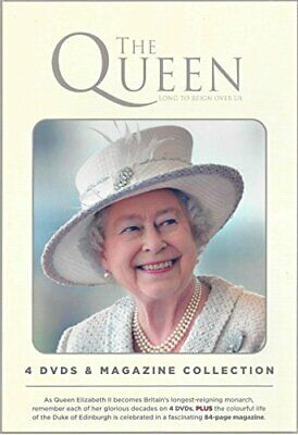 The Queen Long To Reign Over Us - 4 DVD's & Magazine Collection - DVD  54VG The
