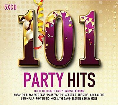 Various Artists - 101 Party Hits - Various Artists CD GXVG The Cheap Fast Free