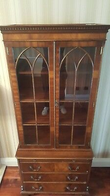 BEVAN FUNNEL REPRODUX Bookcase/ Drinks display cabinet **low asking price**