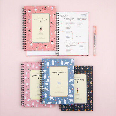 Ardium Spring Line Notebook [Large] Study Planner Memo Scrapbook Journal Book