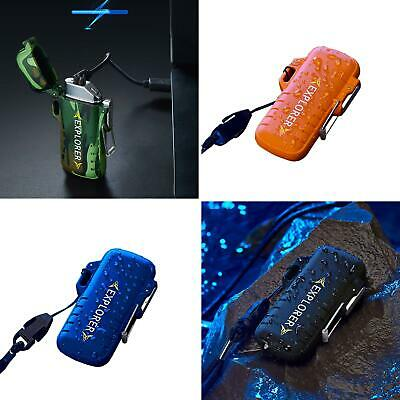 USB Electric Lighter Dual Arc Cigarette Plasma Rechargeable Windproof Flameless