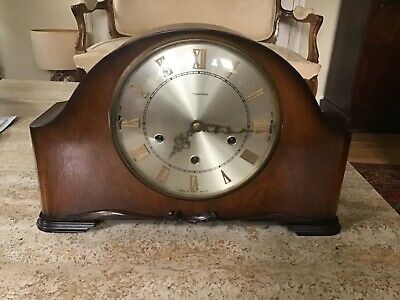 Smiths Tempora Mantel Clock With Westminster Chimes To Restore