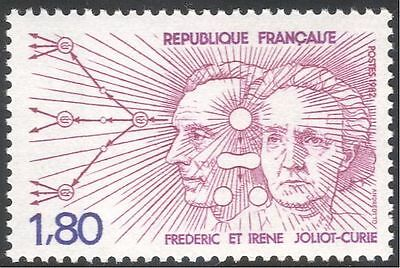 France 1982 F & I Joliot-Curie/Science/Nuclear/People/Scientists 1v (n29392)