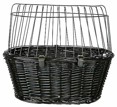 Trixie Bicycle Basket for Front in Black Item No. 2818 Dog