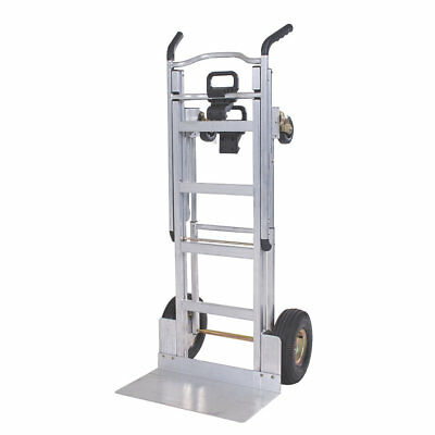 Light weight aluminum 3 in 1 Folding Hand Truck Trolley Pneumatic Tyres 350kg