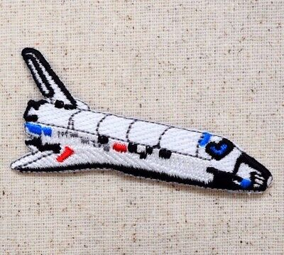 Space Shuttle - Astronaut/Spacecraft/Outer - Iron on Applique/Embroidered Patch