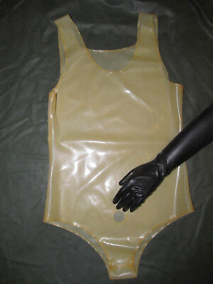 Gummi/Latex-Spielbody, Herrenbody,Latexhose,Herrenhose,Spielhose,Body,-L-
