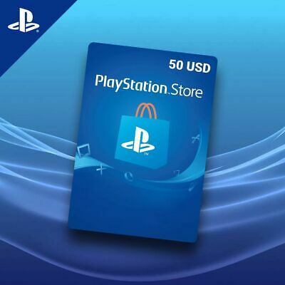 PlayStation Network Gift Card $50 USD PSN UNITED STATES - use in USA