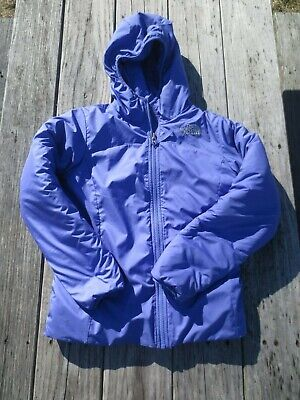 The North Face ~ Girls Purple Reversible Winter Coat ~ Size 10-12