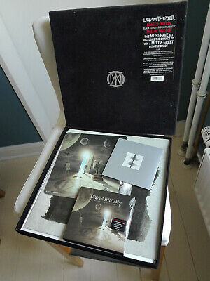DREAM THEATER limited Vinyl 2LP + 3x CD + DVD velvet BOX Black Clouds (2009)