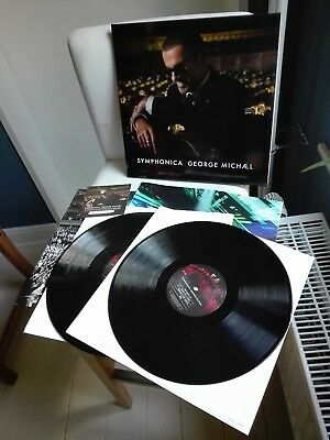 GEORGE MICHAEL original limited 500 Vinyl 2LP Symphonica (2014)