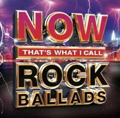 Various Artists - Now That's What I Call Rock Ballads [Digipak] New Cd