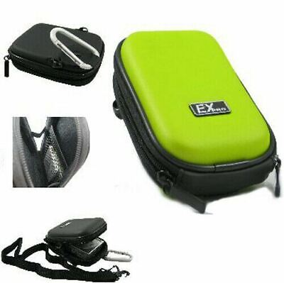 Ex-Pro® Green Hard Clam Camera Case for Nikon Coolpix S203 S210 S220