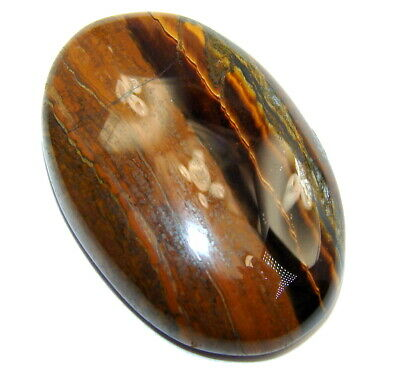 Natural Amazing golden tigers's eye 45.5ct loose stone from SilverRush Style
