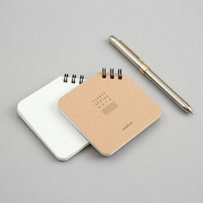 Corner Spring Notebook [XS] Study Memo Idea Business Journal Vocabulary Notepad