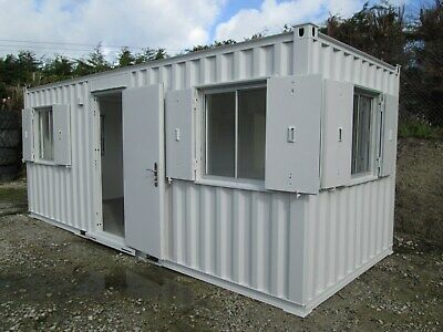 20ft Site Office, Site Cabin, Office, Portable Building, Shipping Container