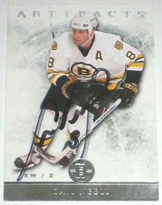 Cam Neely Signed 12-13 Upper Deck Artifacts Boston Bruins Card Autograph Auto!!