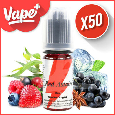 ★★ Red Astaire T-Juice 50 X 10 Ml E-Liquide ★★