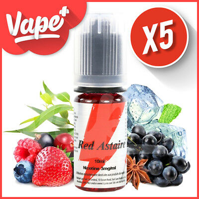 ★★ Red Astaire T-Juice 5 X 10 Ml E-Liquide ★★