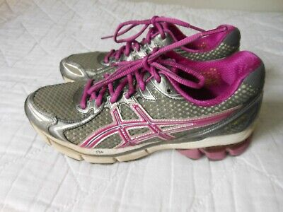 Details about ASICS GEL GT 2170 Womens Sz 9 D Purple Gray Silver ATHLETIC RUNNING SHOES T257N