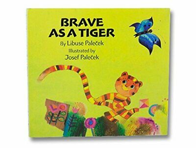Brave as a Tiger by Palecek, Libuse Hardback Book The Cheap Fast Free Post