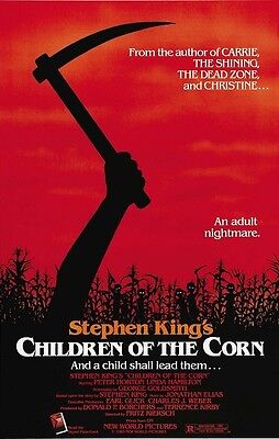 Children Of The Corn movie poster : 11 x 17 inches : Stephen King