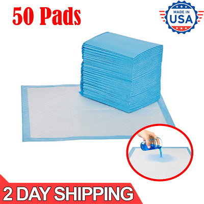 50 Absorb Extra Large Pets Training Pads XL Pet Puppy Dog Pad Potty No Leak Pee