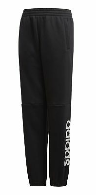 adidas Core Kinder Trainings Sport Hose Linear Pant schwarz weiß