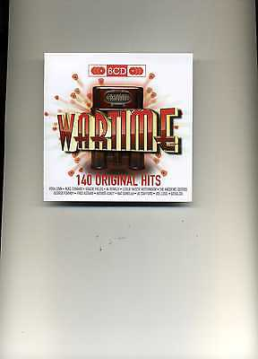 Original Hits - Wartime - Vera Lynn Andrews Sisters Steve Conway - 6 Cds - New!!