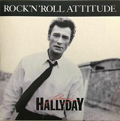 Johnny Hallyday Cd Single Rock 'N' Roll Attitude Scelle