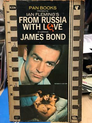From Russia with love Ian Fleming Pan Paperback JAMES BOND