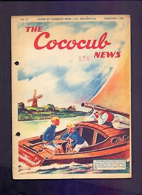 16 Page The Cococub News No 21,issued by Cadbury Bournville February 1938  (YT1)