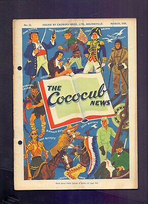 16 Page The Cococub News No 22,issued by Cadbury Bournville March 1938  (YT1)