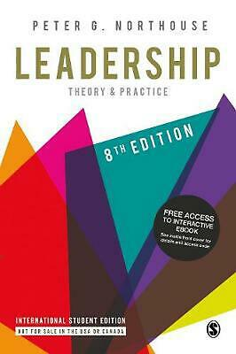 Leadership: Theory and Practice 8th Edition by Peter G. Northouse Book & Merchan