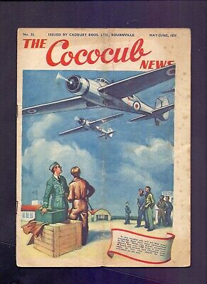 16 Page The Cococub News No 33,issued by Cadbury Bournville May-June 1939 (YT1)