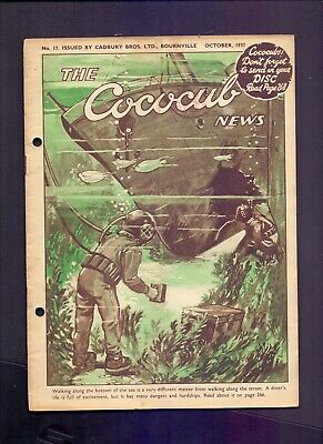 16 Page The Cococub News No 17,issued by Cadbury Bournville October 1937 (YT1)