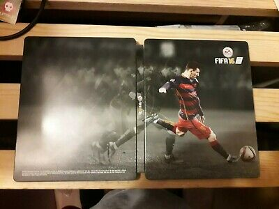 FIFA 16 STEEL BOOK (no game, case only)