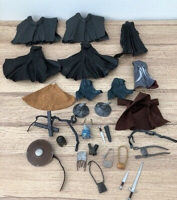 Lord Of The Rings - The Hobbit - Accessories Bundle - Hats - Weapons - Cloaks