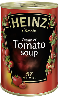 Original Heinz Cream of Tomato Soup cremige Tomatensuppe 4x 400g