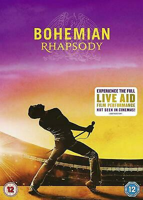 Bohemian Rhapsody DVD 2019 Brand New Sealed with Special Features UK Seller