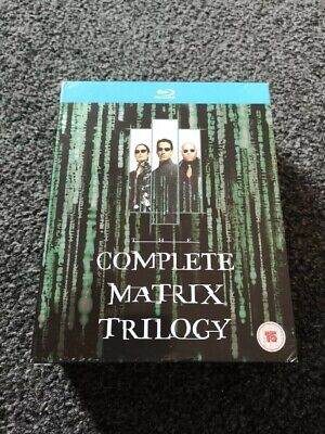The Matrix Trilogy | Blu-Ray | HD | Used - Good Condition