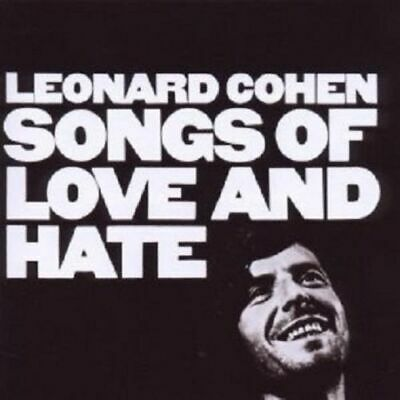 Leonard Cohen - Songs Of Love And Hate - CD  1997 -sehr guter Zustand -