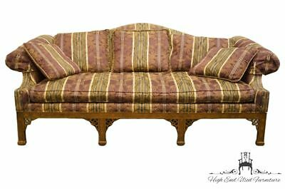 DREXEL HERITAGE Camelback Traditional Sofa w. Rolled Arms and Accent Pillows