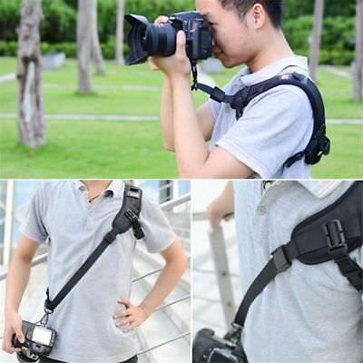 Focus F-1 Quick Rapid Sling Belt Neck Shoulder Strap For DSLR SLR Camera Black