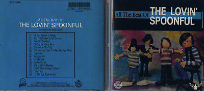 The Lovin' Spoonful - All the Best of the Lovin' Spoonful CD Nice! #0219MY