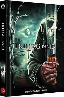 Mediabook FREITAG DER 13.  KILLER CUT Limited Uncut Edition  COVER C BLU-RAY Neu