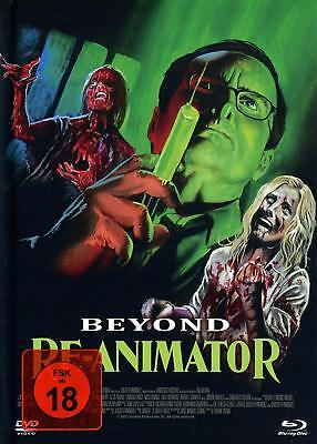 Mediabook Beyond Blu-Ray Re-Animator Jeffrey Combs Cover B Limited DVD+CD Nuevo