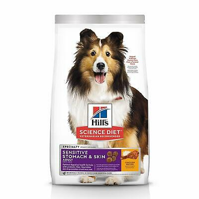 Hill's Science Diet Dry Dog Food, Adult, Sensitive Stomach & Skin,Chicken-30 LBs